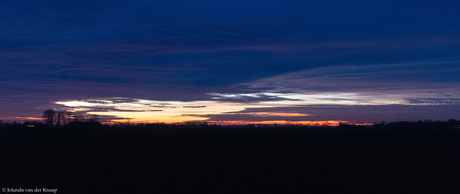 Zonsondergang 29 december 2019