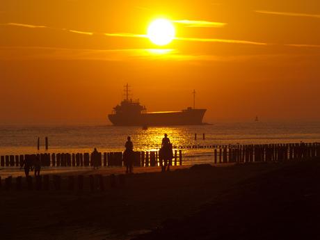 zonsondergang zoutelande