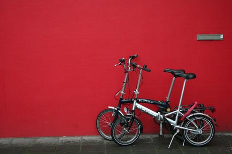 Op fietse...