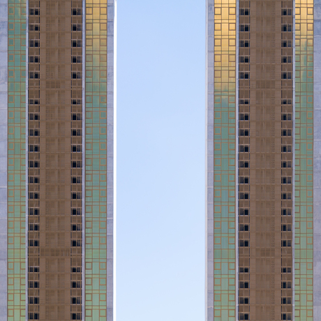 Residential skyscraper