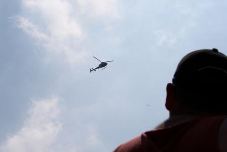 Tour de France helikopter