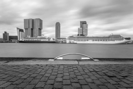 MS Rotterdam en MSC Orchestra