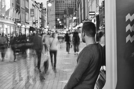 Drukte in de stad