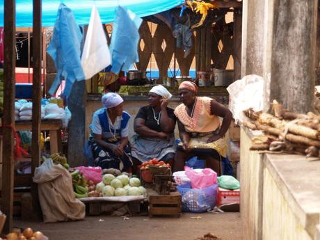 Markt Kaap Verdië