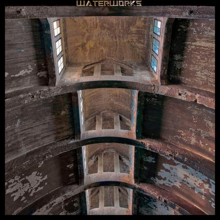 Waterworks - Het dak van een oude waterzuivering. - foto door wido-foto op 03-09-2013 - deze foto bevat: oud, kleur, licht, verlaten, vervallen, hdr, hdri, diepte, scherpte, urbex, exploration, urban exploring, urban exploration