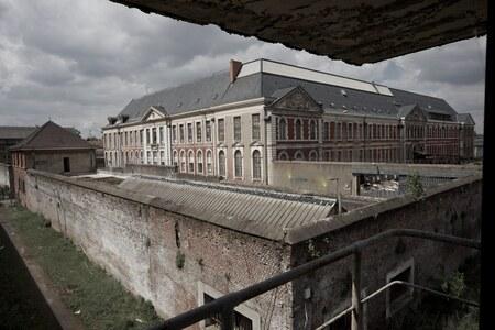 Prison - - - foto door ceesdv op 25-02-2015 - deze foto bevat: frankrijk, gebouw, verlaten, vervallen, gevangenis, urbex, urban exploring