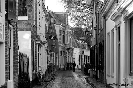 Straatje in Loenen aan de Vecht