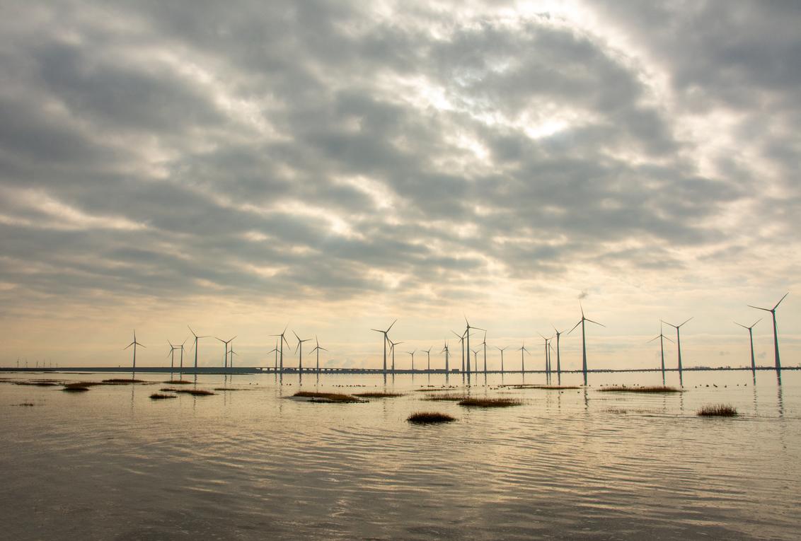 windpark krammer krammersluizen - - - foto door jannie-timmer op 08-03-2021