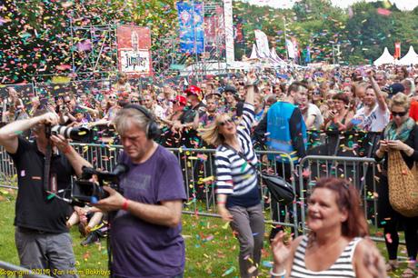 Parkpop 2011, een feest
