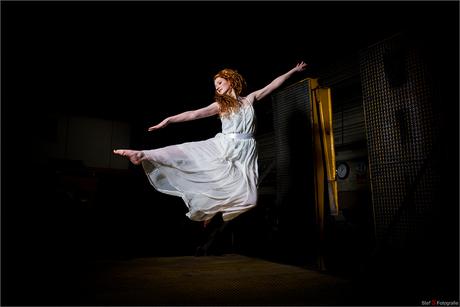 Flight of a dancer