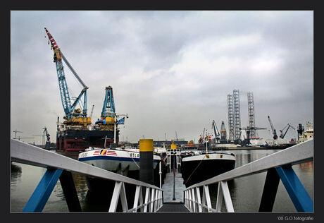 Kijkje in de Rotterdamse haven