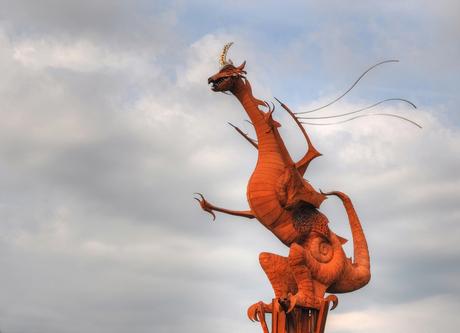 de draak van Beesel
