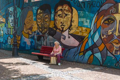 Argentinie Buenos Aires Dwaze moeders zoom
