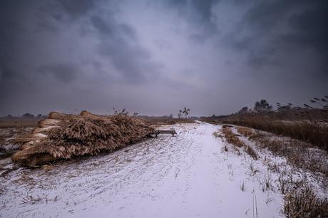 Kalenberg in de sneeuwstorm
