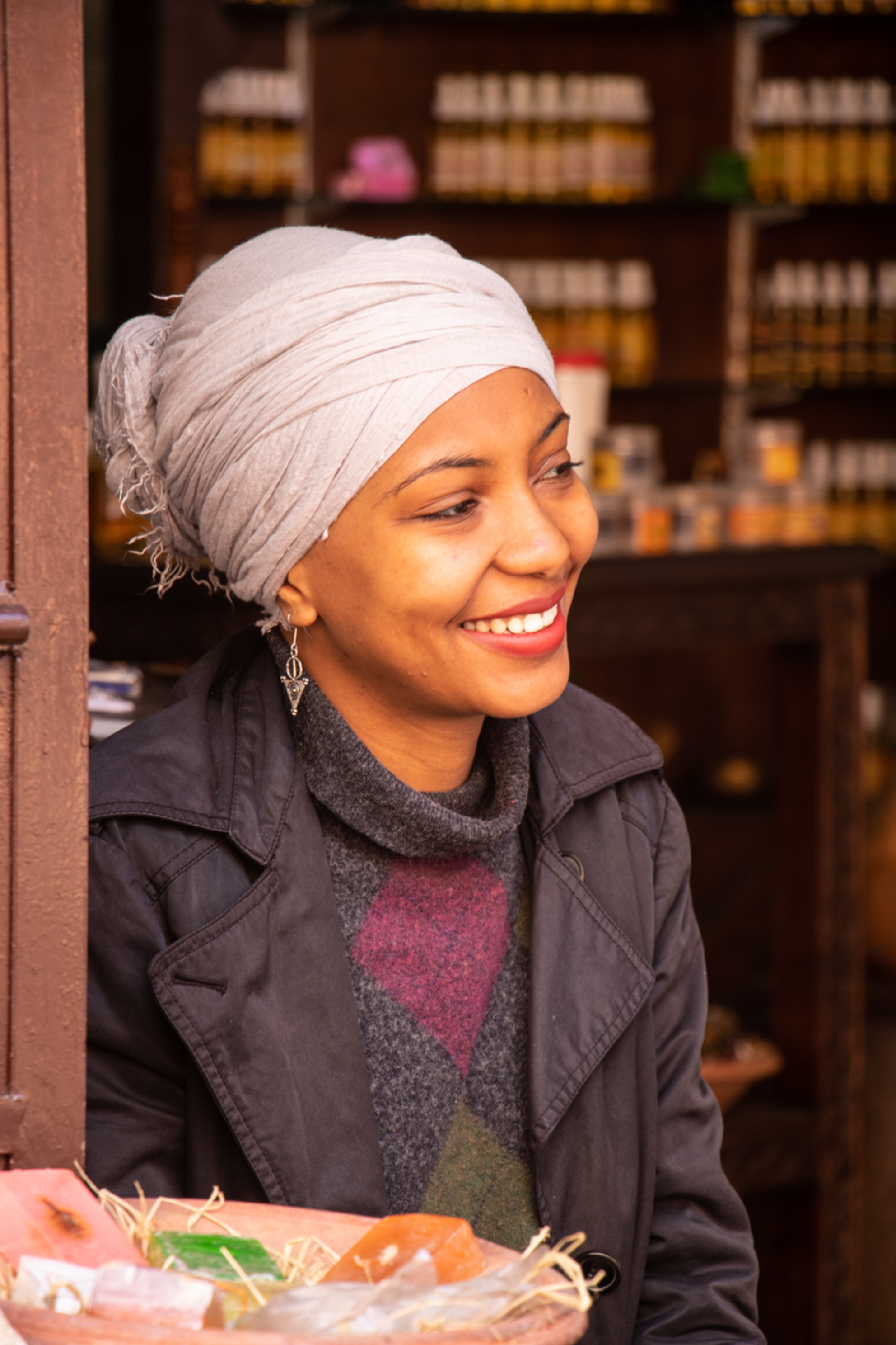 Karima - Je m'appelle Karima, zei ze heel verlegen. - foto door je.gabber op 14-11-2018 - deze foto bevat: afrika