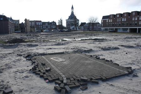 Nieuw Damplein - Hier moet binnen een paar jaar een nieuwe Sluiskant en een nieuw Damplein in Leidschendam verschijnen.... - foto door fantasia op 22-02-2009 - deze foto bevat: sluis, leeg, leidschendam, damplein