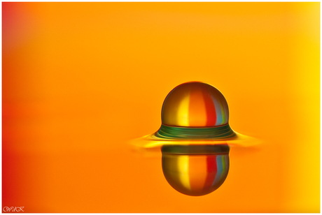 Regenboogballetje