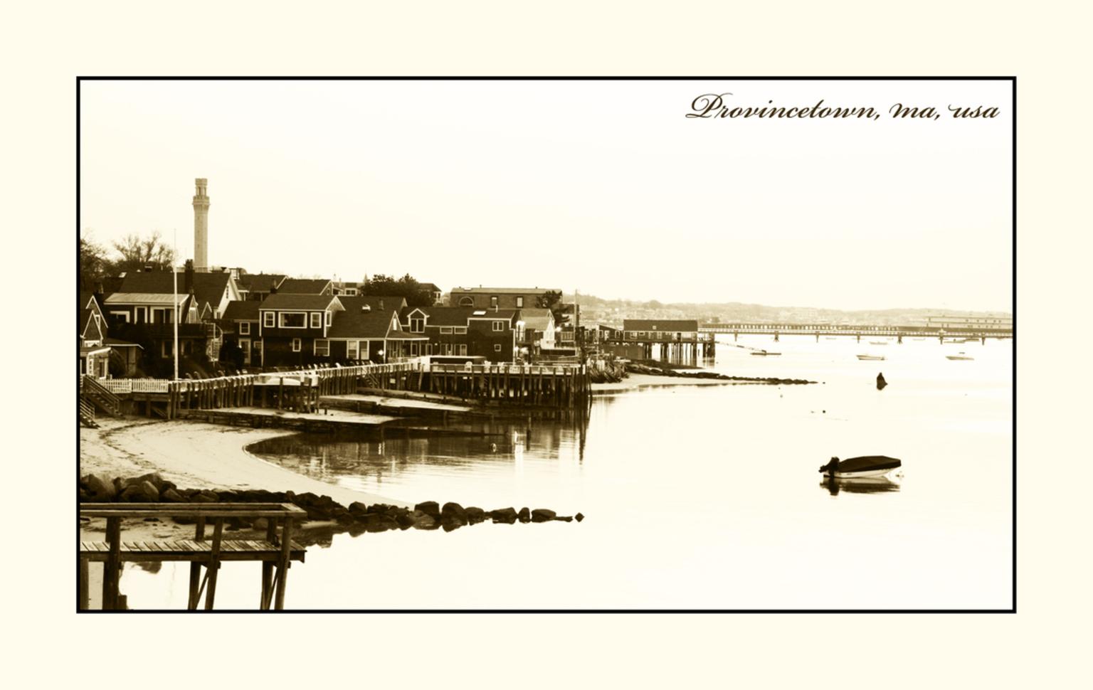 Looks Old - Provincetown in Maine. Erg mooi stadje. - foto door lokkjja op 20-06-2008 - deze foto bevat: zon, vakantie, amerika, provincetown