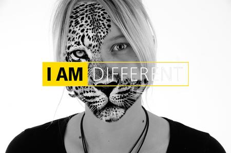 Zelfportret - Voor mijn opleiding moest ik verschillenden zelfportretten maken. Hierbij 1 van mijn favoriet. - foto door milouebben op 28-12-2015 - deze foto bevat: portret, bewerkt, fantasie, zelfportret, bewerking, photoshop, creatief
