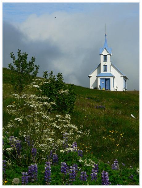 IJsland in het voorjaar