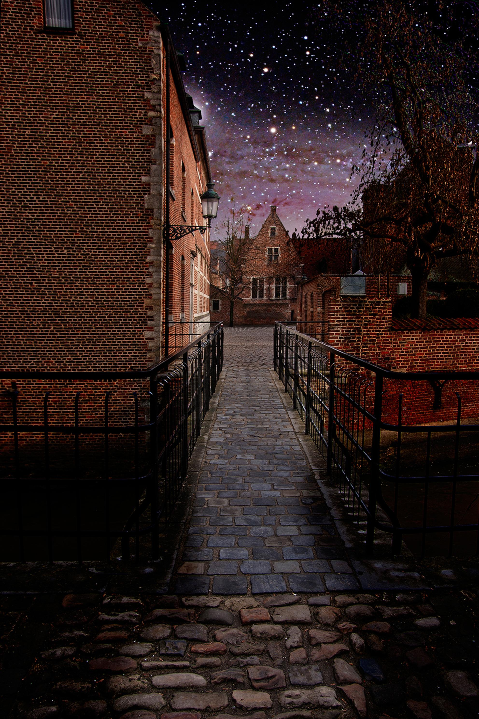 Begijnhof Leuven - Magisch Hageland - foto door Sandy Viktor Nys op 05-03-2021