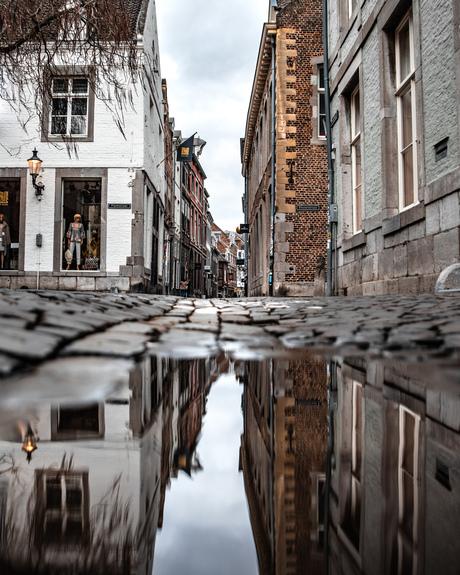 Pitoreske straatjes in Maastricht