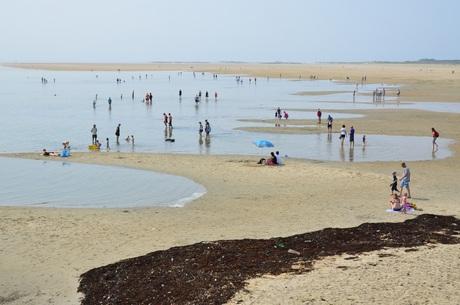 Grijze zee bij het Groene Strand (Terschelling)