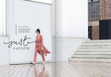 Publicatie En-vie fashion magazine