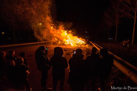 Kerstboom verbranding