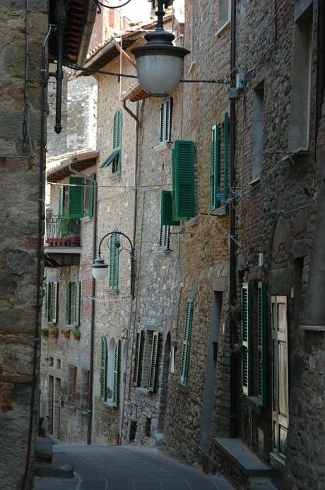 Steegje in Passignano