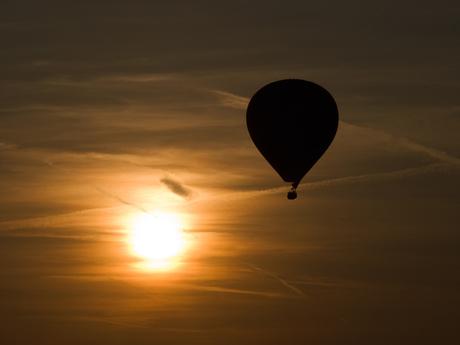 Ballon met zon