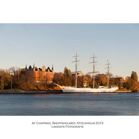 Af Chapman, Skeppsholmen, Stockholm 2013