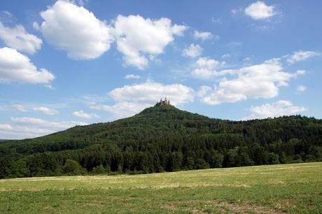 kasteel op berg