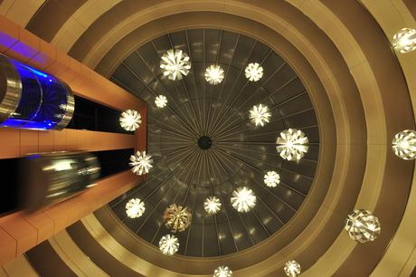 Plafond hotel