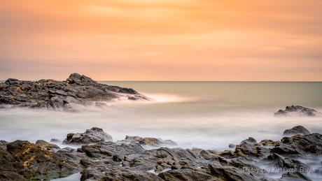 Rocks long exposure