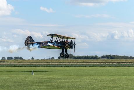 Vliegshow midden Zeeland