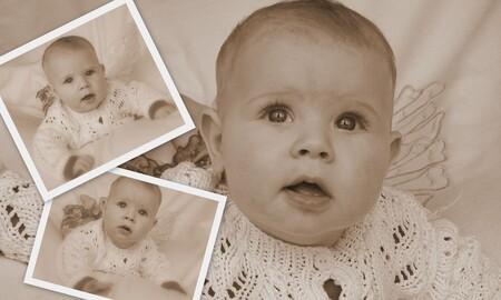 Tamar 5 maanden - Wat wordt mijn dochter al groot! - foto door mariah1982 op 23-02-2010 - deze foto bevat: Baby 5 maanden