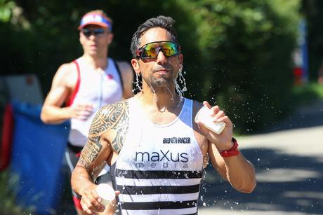 Verkoeling tijdens de triathlon