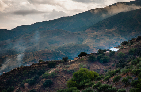 House on the hill, Andalucia