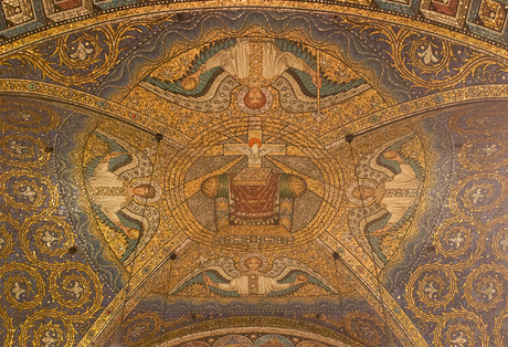 plafond Dom van Aken