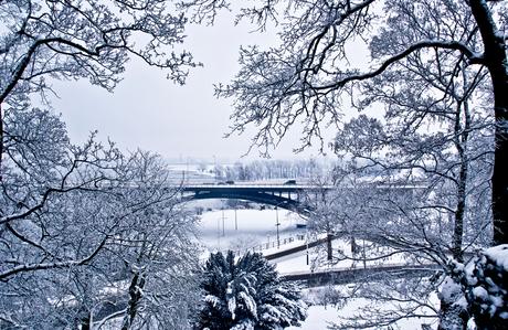 winter in Nijmegen