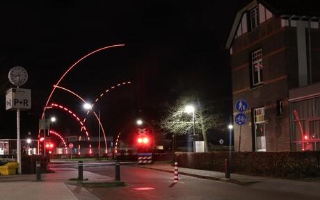 Spoorwegovergang Tunnelweg, Wijchen
