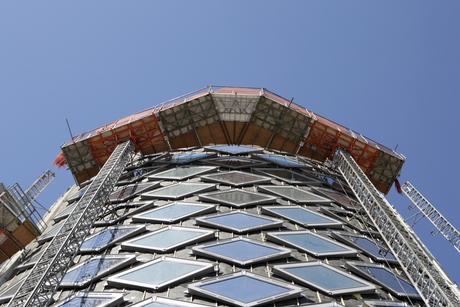 Renovatiewerk silo Halfweg