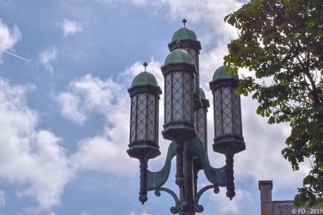 Leiden, straatverlichting