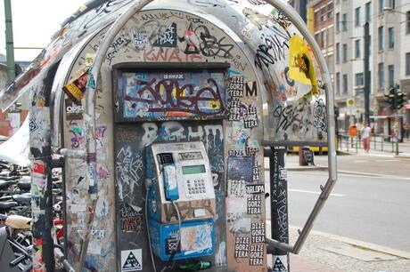 Telefooncel Berlijn
