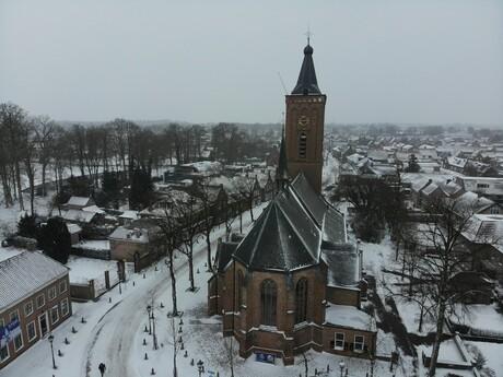Hervormde kerk Scherpenzeel