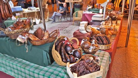 Kraampje van de lokale slager