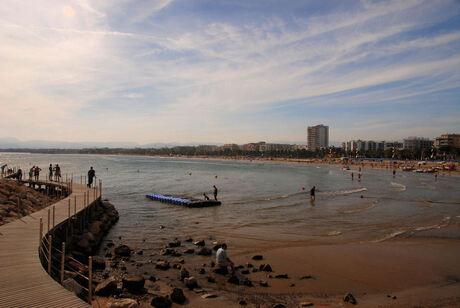 Dagje strand loopt ten einde