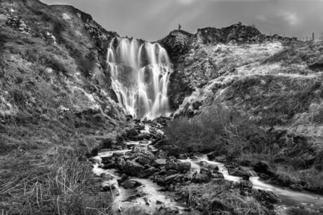 Clashnessie falls, Scotland