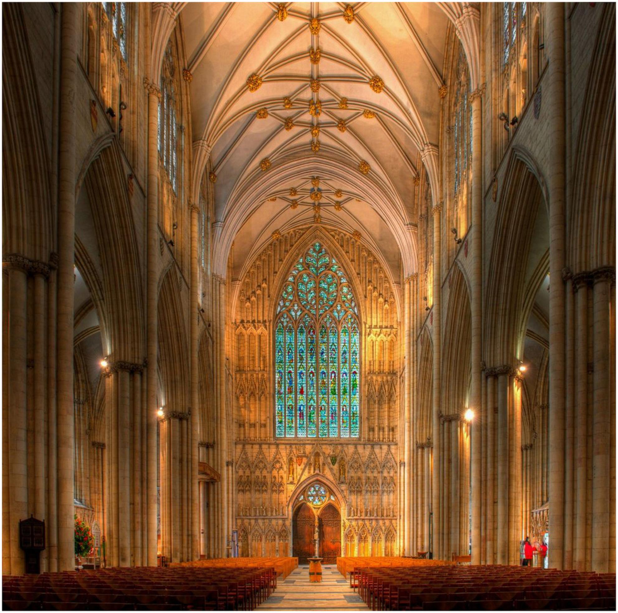 HDR Minster of York - De laatste HDR (5 foto's) van de Minster in York.bekijk hem in het groot. - foto door bally3 op 04-10-2013 - deze foto bevat: york, kathedraal, hdr, uk, minster - Deze foto mag gebruikt worden in een Zoom.nl publicatie